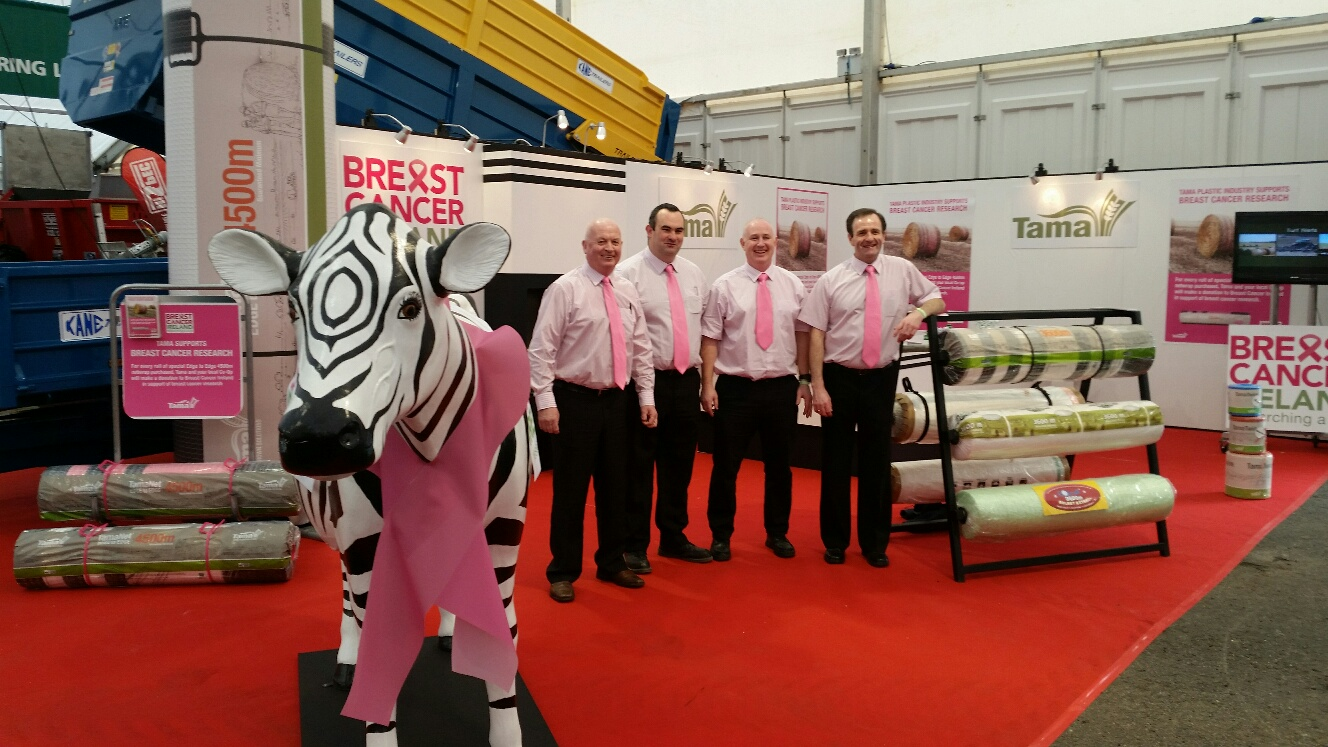 Tama Ireland Supporting Breast Cancer Research the FTMTA show