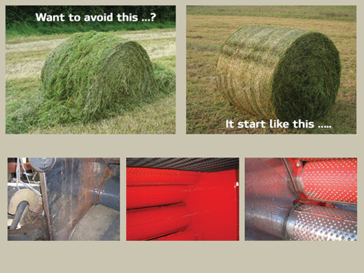 Preventing bale damage